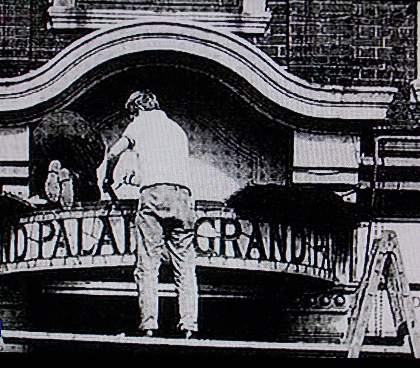 Grand Palais Yiddish theatre in Commercial Rd