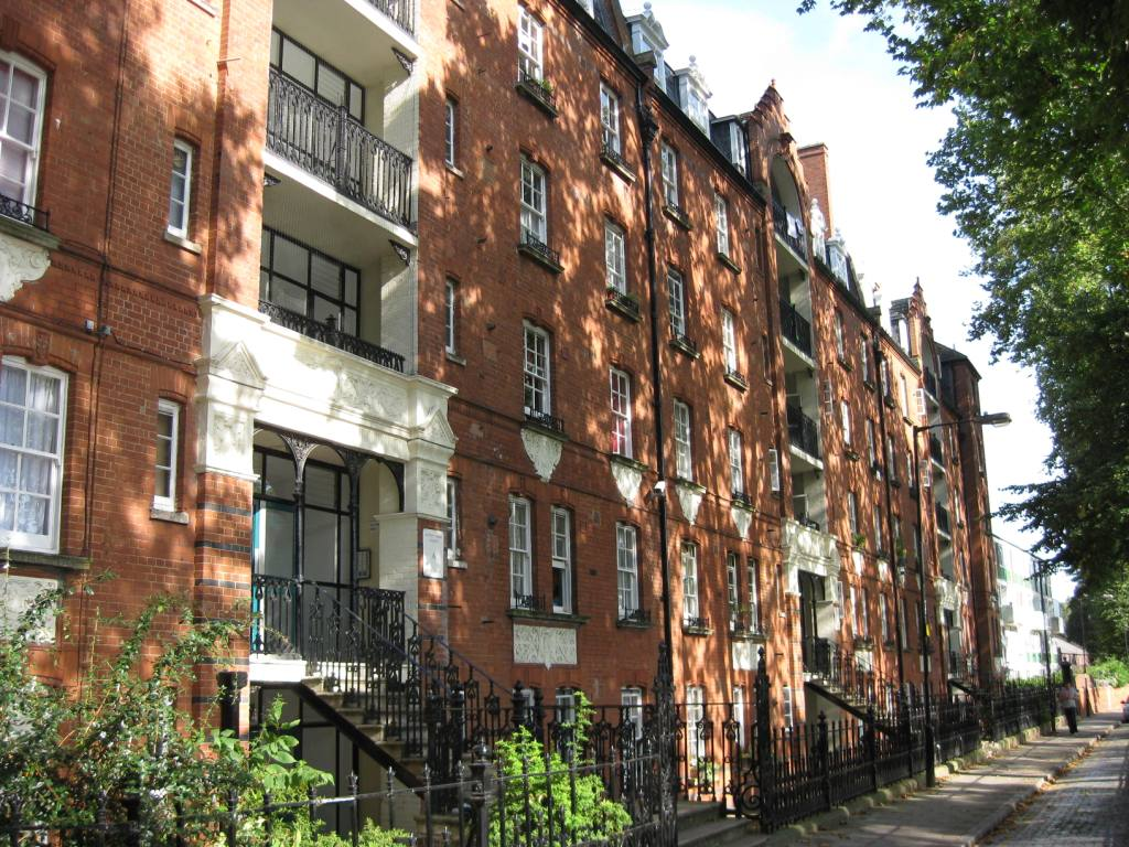 Stepney Green Dwellings - erected by the Lord Rothschild's 4% Industrial Dwelling Company