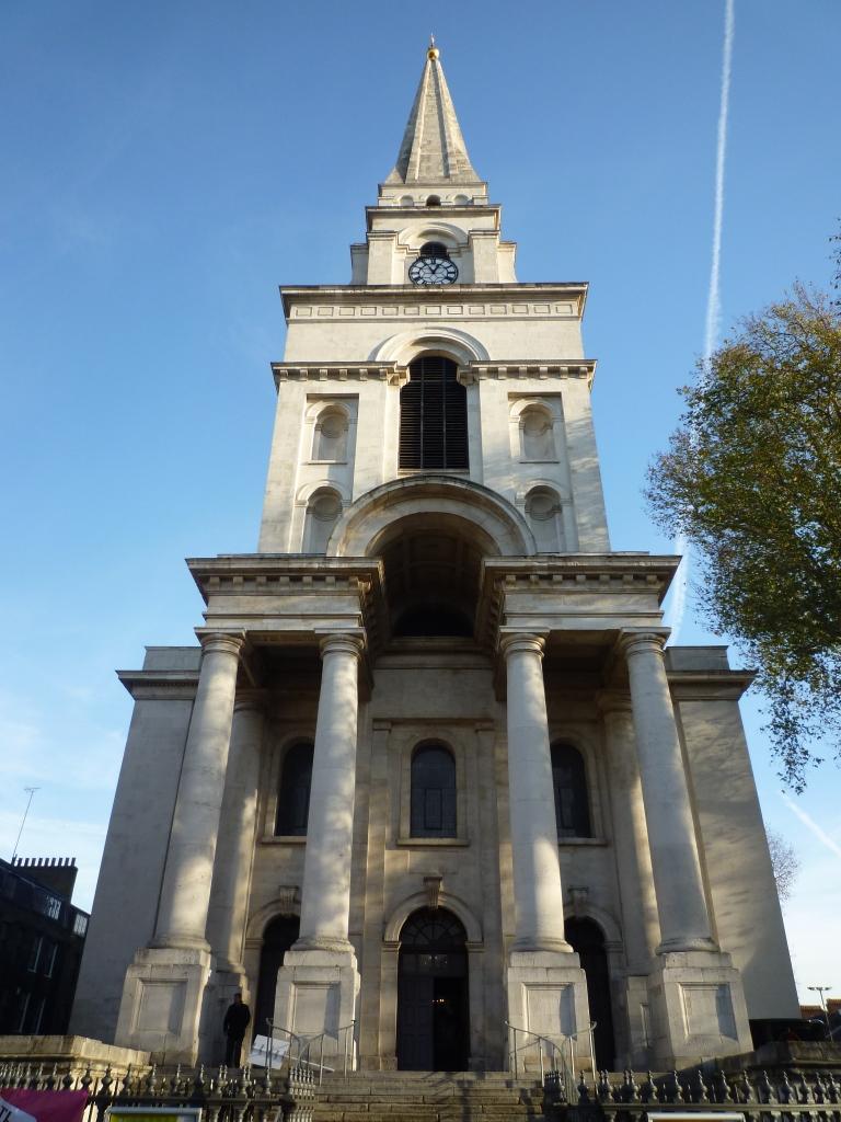 Spitalfields London: Jewish East End Of London Spitalfields Church Hebrew Plaques