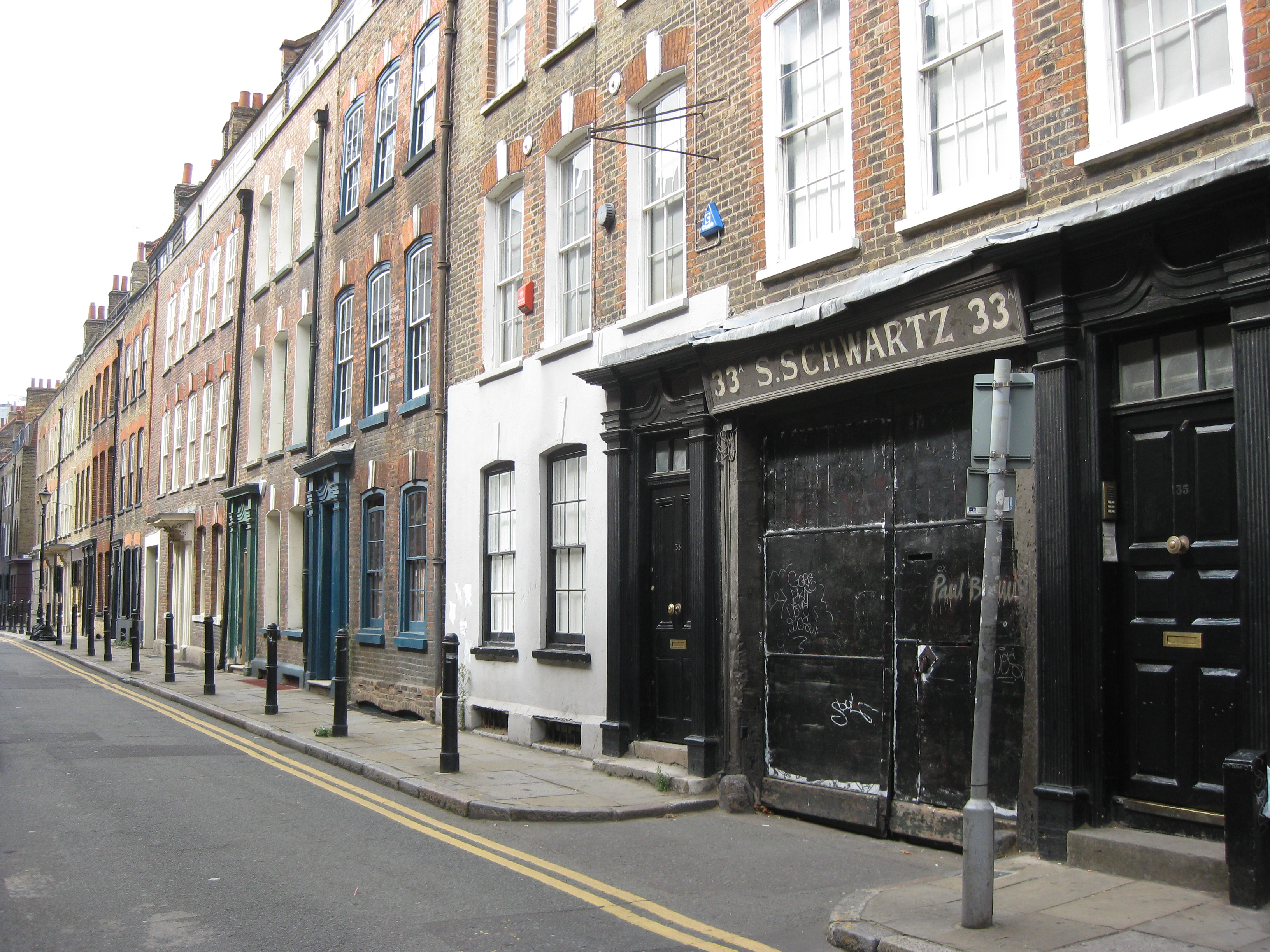 Jewish East End Of London Princelet Street